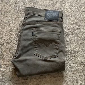 Levi's 511 jeans in gray size 34x34